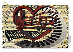 Love Of Music  Carry-all Pouch