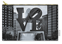 Love Park Bw Carry-all Pouch