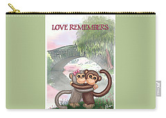 Love Remembers Carry-all Pouch by Jerry Ruffin