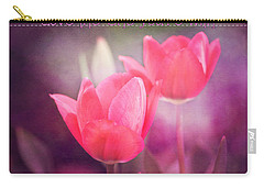 Carry-all Pouch featuring the photograph Love The One You're With by Trina  Ansel