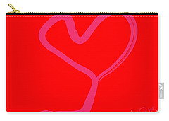 Carry-all Pouch featuring the painting Love Tree by Go Van Kampen