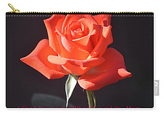 Loved You More Carry-all Pouch by Jay Milo