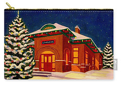 Loveland Depot At Christmas Carry-all Pouch
