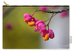Lovely Colors - European Spindle Flower Seeds Carry-all Pouch