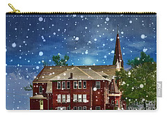 Carry-all Pouch featuring the photograph Lovely Country Church by Liane Wright