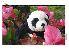 Lovely Pink Flower Carry-all Pouch