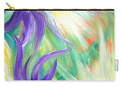 Carry-all Pouch featuring the painting Lovely by Teresa Wegrzyn