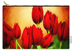 Lover's Hearts Carry-all Pouch by Lourry Legarde