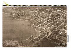 Aerial Of Lovers Point And Pacific Grove California July 10 1906 Carry-all Pouch
