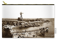 Lovers Point Beach And Old Wooden Pier Pacific Grove August 18 1900 Carry-all Pouch