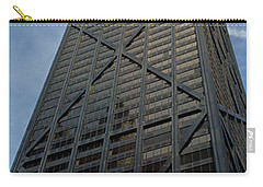 Low Angle View Of A Building, Hancock Carry-all Pouch