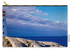 Low Angle View Of A Lighthouse, Peggys Carry-all Pouch