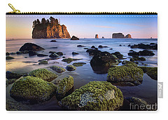 Low Tide At Second Beach Carry-all Pouch