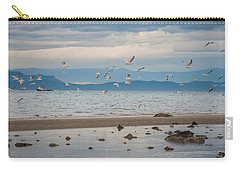 Herring Season  Carry-all Pouch by Roxy Hurtubise