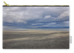 Low Tide Sandscape Carry-all Pouch by Roxy Hurtubise