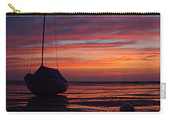 Sunrise At Low Tide Carry-all Pouch by Dianne Cowen