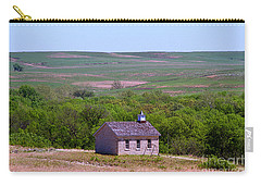 Lower Fox Creek Schoolhouse In The Flint Hills Of Kansas Carry-all Pouch