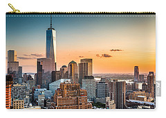 Lower Manhattan At Sunset Carry-all Pouch