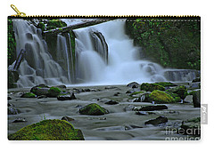 Lower Mcdowell Creek Falls Carry-all Pouch