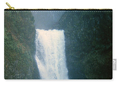 Lower Multnomah Falls Through The Mist Carry-all Pouch