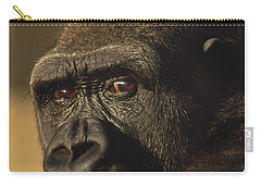 Lowland Gorilla Carry-all Pouch by Frans Lanting MINT Images