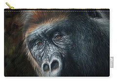 Lowland Gorilla Painting Carry-all Pouch