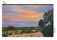Loxahatchee Sunset Carry-all Pouch