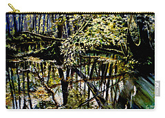 Lubianka-4 Mystery Of Swamp Forest Carry-all Pouch