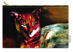 Lucifer Sam Tiger Cat Carry-all Pouch