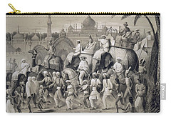 Lucknow, The Principal Street Carry-all Pouch by A Soltykoff
