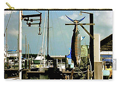 Lucky Fleet Key West  Carry-all Pouch by Iconic Images Art Gallery David Pucciarelli