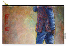 Lucky Red Boots Carry-all Pouch by Retta Stephenson