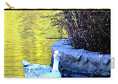 Carry-all Pouch featuring the photograph Lucy by Deena Stoddard