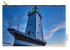 Carry-all Pouch featuring the photograph Ludington Lighthouse by Sebastian Musial