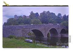 Carry-all Pouch featuring the photograph Ludlow Castle by John Williams