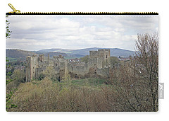 Ludlow Castle Carry-all Pouch by Tony Murtagh