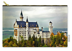 Neuschwanstein Castle In Bavaria Germany Carry-all Pouch