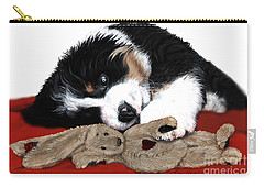 Lullaby Berner And Bunny Carry-all Pouch