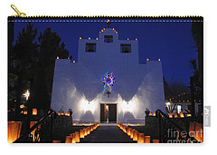 Luminarias At St Francis De Paula Carry-all Pouch