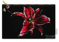 Carry-all Pouch featuring the photograph Luminet Darkness by Jessica Shelton