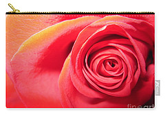 Luminous Red Rose 1 Carry-all Pouch
