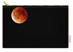 Lunar Eclipse April 15  2014 Carry-all Pouch
