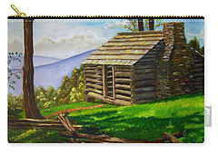 Lunch At An Old Cabin In The Blue Ridge Carry-all Pouch