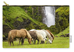 Lunch At The Waterfall Carry-all Pouch