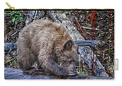Carry-all Pouch featuring the photograph Lunch Break by Jim Thompson
