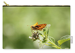 Carry-all Pouch featuring the photograph Lunch Time by Amy Gallagher