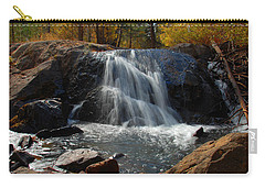 Carry-all Pouch featuring the photograph Lundy Creek Cascades by Lynn Bauer