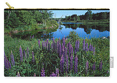 Lupin And Lake-sq Carry-all Pouch