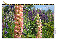 Lupin Summer Carry-all Pouch by Martin Howard