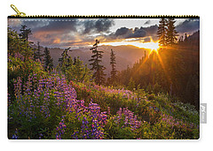 Lupine Meadows Sunstar Carry-all Pouch